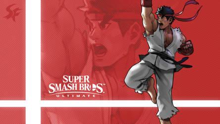 Super Smash Bros. Ultimate - Ryu by nin-mario64