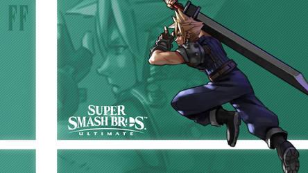 Super Smash Bros. Ultimate - Cloud by nin-mario64