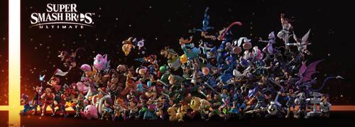 EVERYONE IS HERE!!! by nin-mario64