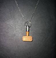 Thors Hammer Pendent by Vikingjack