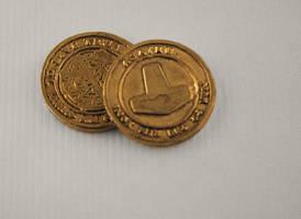Asatru Bronze Challenge coin by Vikingjack