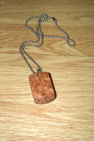 Knotted Maple Dog Tag by Vikingjack