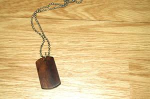 Iron Wood Dog Tag by Vikingjack