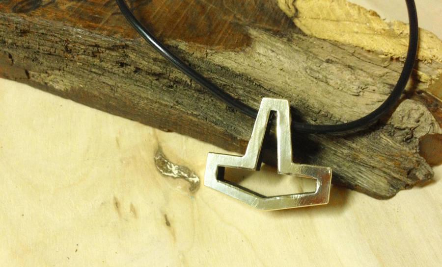 Finished Bronze Hollow Hammer by Vikingjack