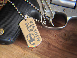 Modern Day Mjolnir Dog Tag by Vikingjack