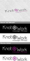 Knotwork Message Therapy Logo by Vikingjack
