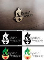 Herbal Prepper Logo Mockup by Vikingjack