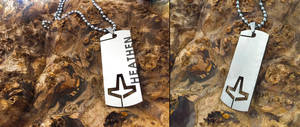 New American Heathen Dog Tag by Vikingjack