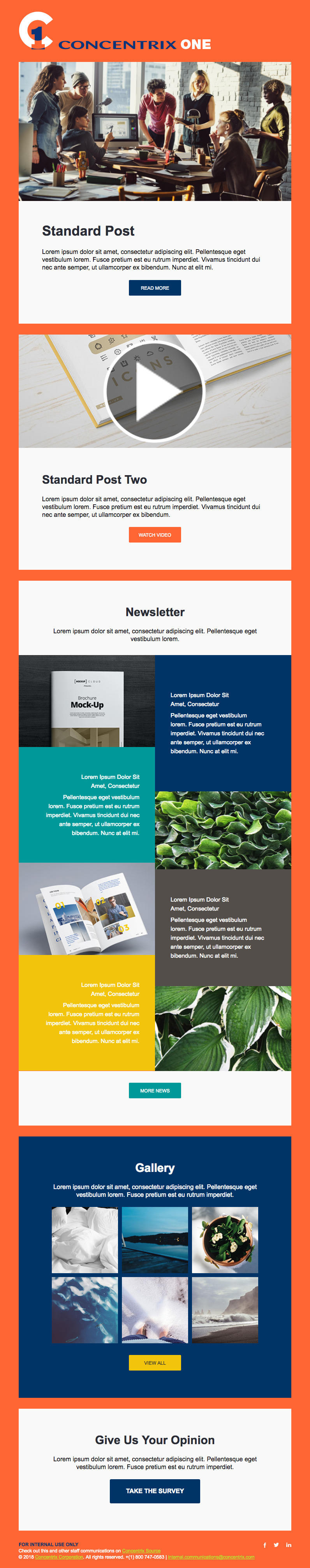 Concentrix 1 Application Email Template by Vikingjack