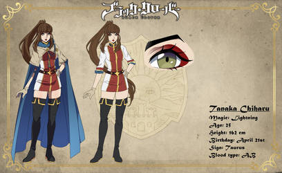 [ Black Clover ] Tanaka Chiharu - Profile Picture by NivaMoon