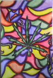 marijuana plant by cutzi-cayla