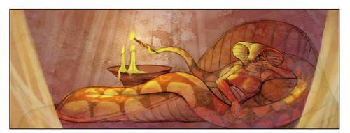 The seduction of Hashtha Panel 1 by hattonslayden
