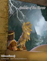 Daily Doe: Goddess of the Storm by hattonslayden