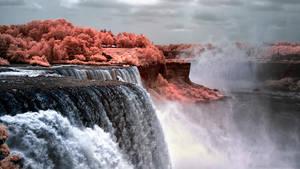 Niagra Falls - Infrared by Amoakk