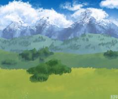 Animation background | Sherbet Lemon by Kongyo
