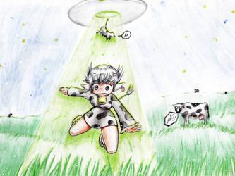 Animal costume_Im not a cow by Phantom-of-Iori