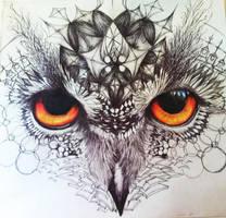 Owl by kyrisnowpaw