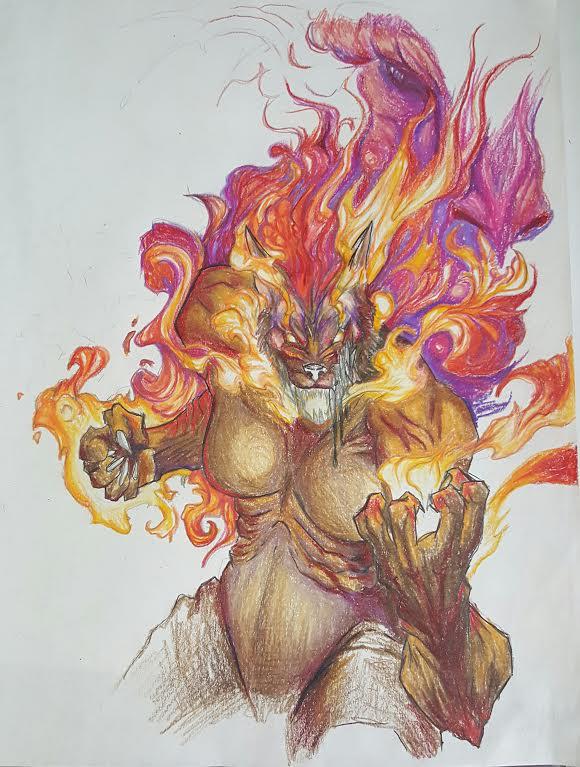 Born of Fire by kyrisnowpaw