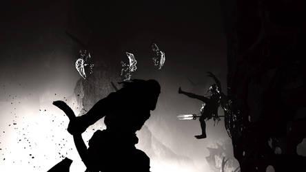 God of War. Battle for the light Alfheim. by xJobO-De-HobOx