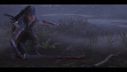 Midst Blood and Fog. Hellblade Senua's Sacrifice. by xJobO-De-HobOx