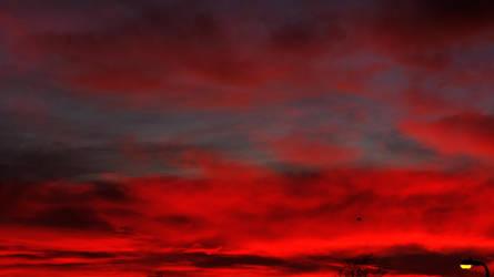 Blood Red Sunset. by xJobO-De-HobOx