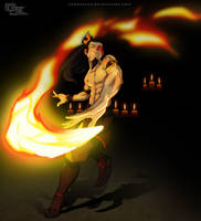 Fire Lord Zuko by DarkKenjie