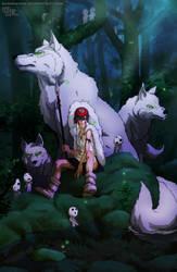 Princess Mononoke by DarkKenjie