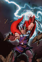 The God of Thunder by DarkKenjie