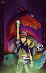 Pokemon Catch em all -colors- by DarkKenjie
