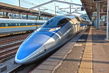 JR500 Shinkansen by OjisanPhoto