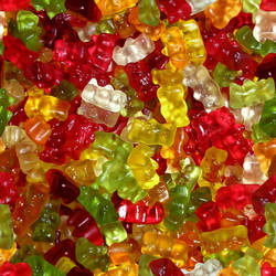 Seamless Gummy Bears by sadronmeldir