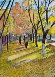 Autumn colors by Oldquaker