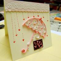Umbrella Card by pcanjjaxdcd