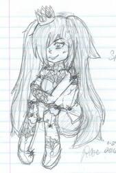Spider Queen Sketch by xRaeylx
