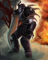 wrath of the death knight by dkvdeeto