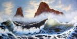 Twin Cliffs by Kchan27