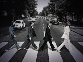 Beatles Abbey Road by JohnnySlowhand