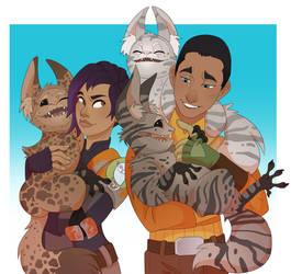 Loth-kitties by Nemeaux