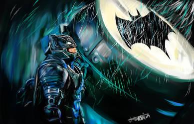 Armored Batman by E-wGeo