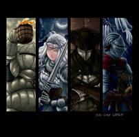 NPC's - Dark Souls 3 by evs-eme