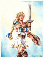 Sophitia - Soul Calibur VI by evs-eme