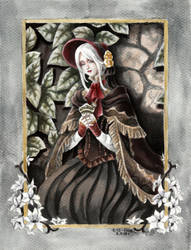 The plain doll - Bloodborne by evs-eme