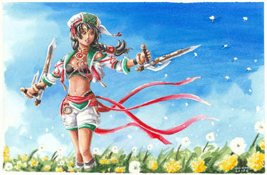 Talim - Soul Calibur VI by evs-eme