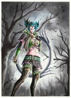 Tira - Soul Calibur VI by evs-eme