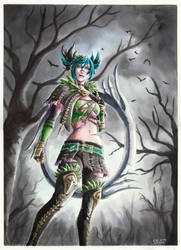 Tira - Soul Calibur VI by evs-eme