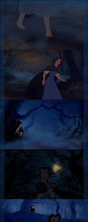 Belle Poursuite - halloween by pitchblack1994