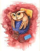 pocket Owl by kiriOkami