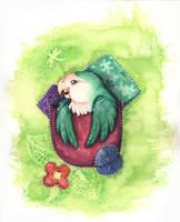 pocket Parrot by kiriOkami