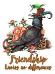 friendship knows no differences by kiriOkami