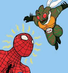 Spider KIIIIIIIIIIIII by raywindz64